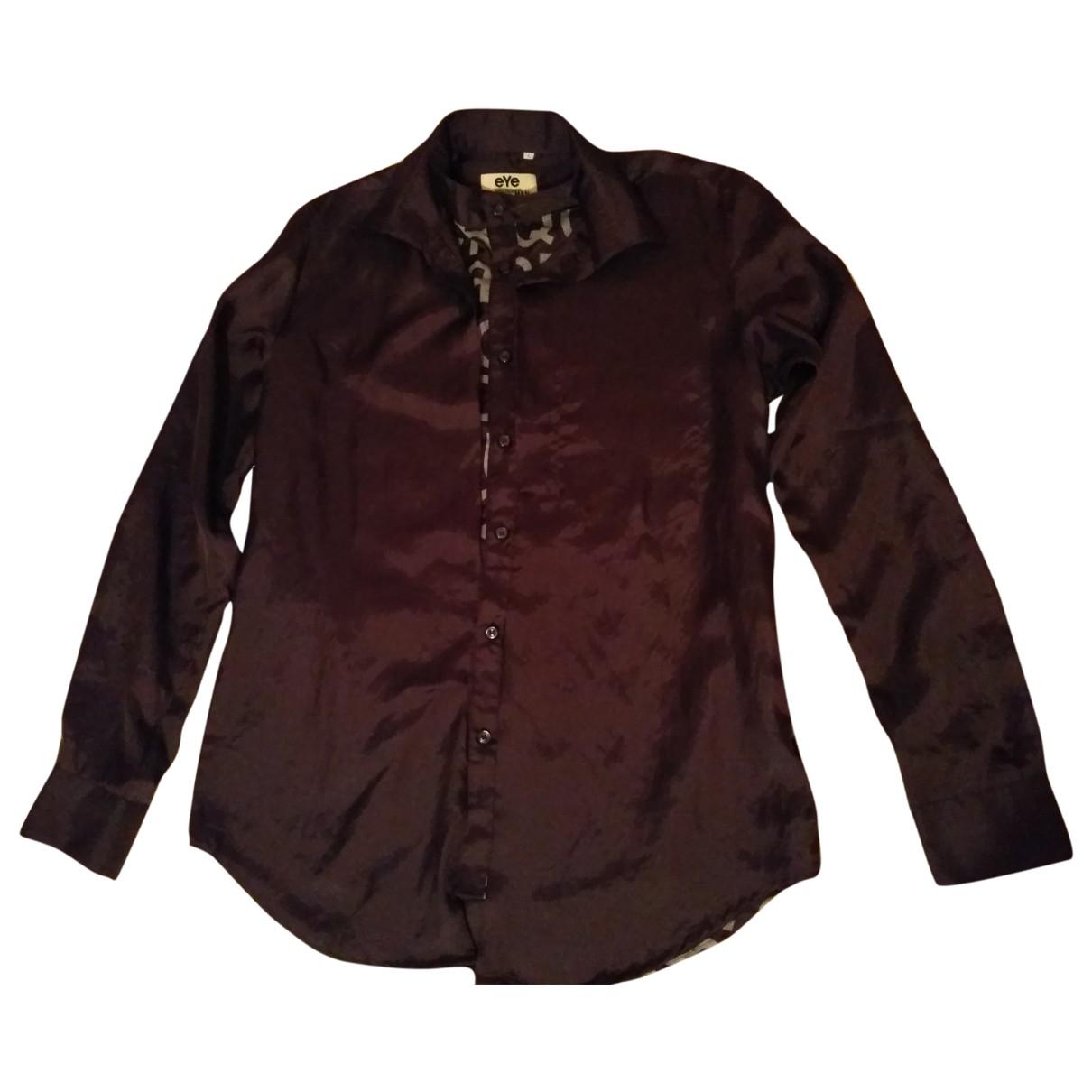 Junya Watanabe - Chemises   pour homme en coton - bordeaux