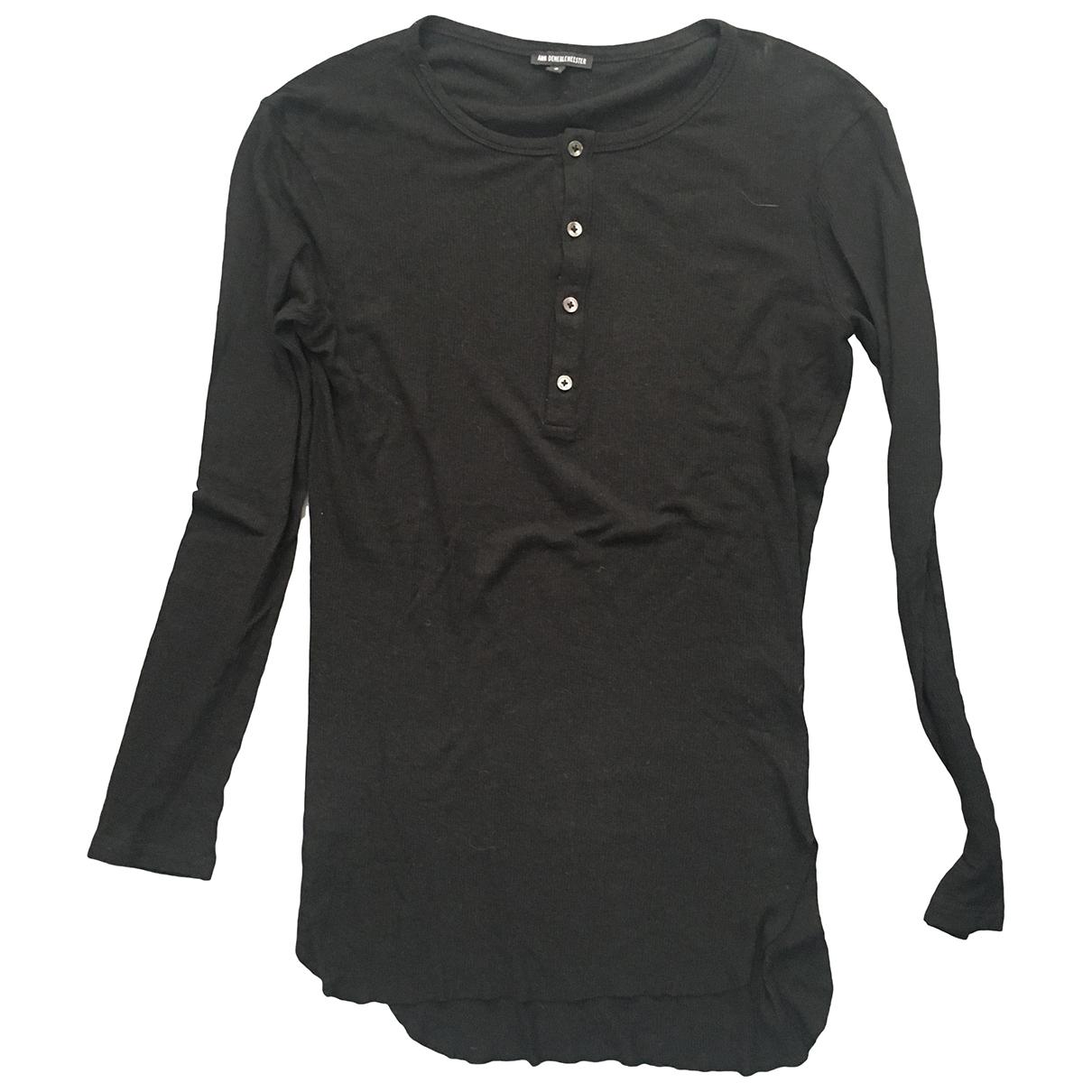 Ann Demeulemeester \N T-Shirts Schwarz