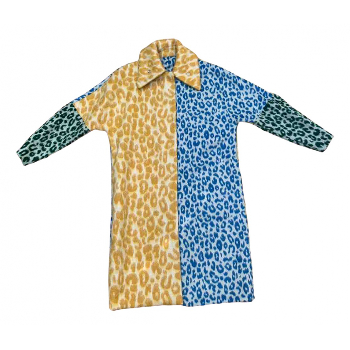 Acne Studios \N Multicolour Wool coat for Women 36 FR