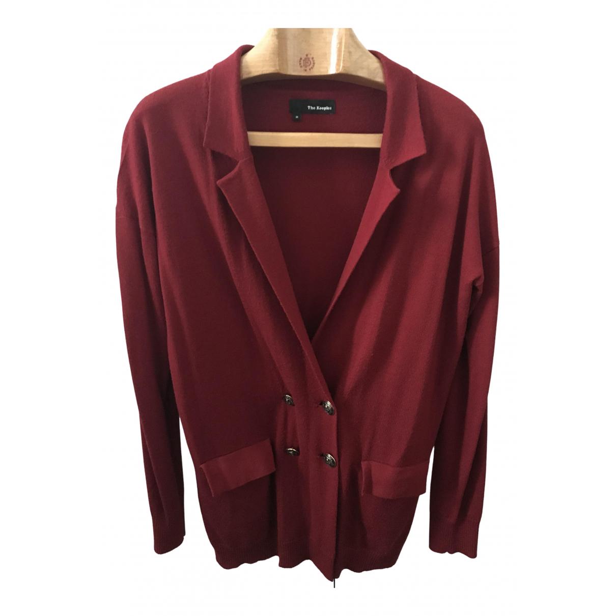 The Kooples N Red Wool Knitwear for Women 38 FR