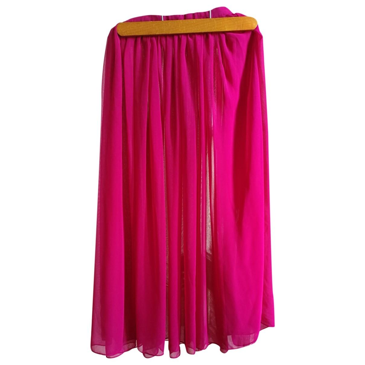 Sonia Rykiel - Jupe   pour femme en soie - rose