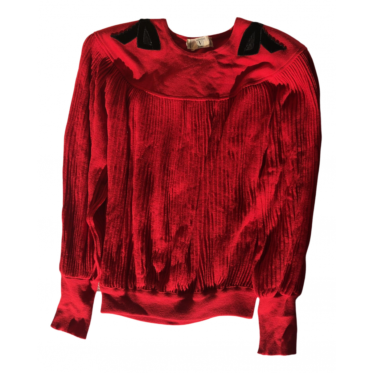 Valentino Garavani \N Pullover in  Rot Wolle