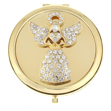 Monet Jewelry Compact Mirror, One Size , White