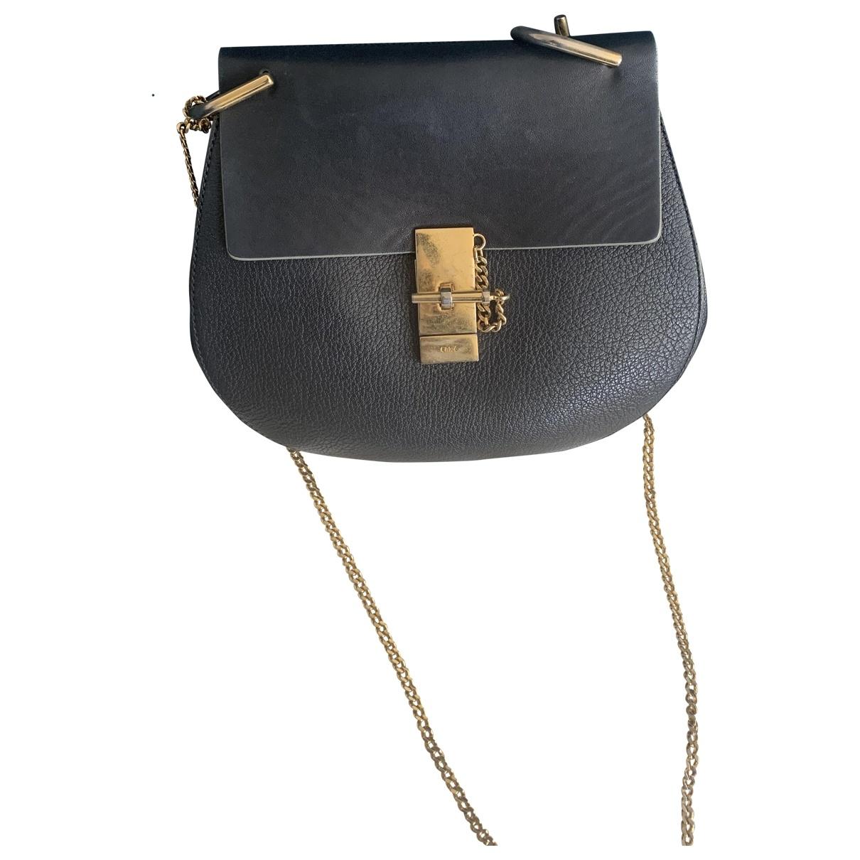 Chloé Drew Black Leather handbag for Women \N