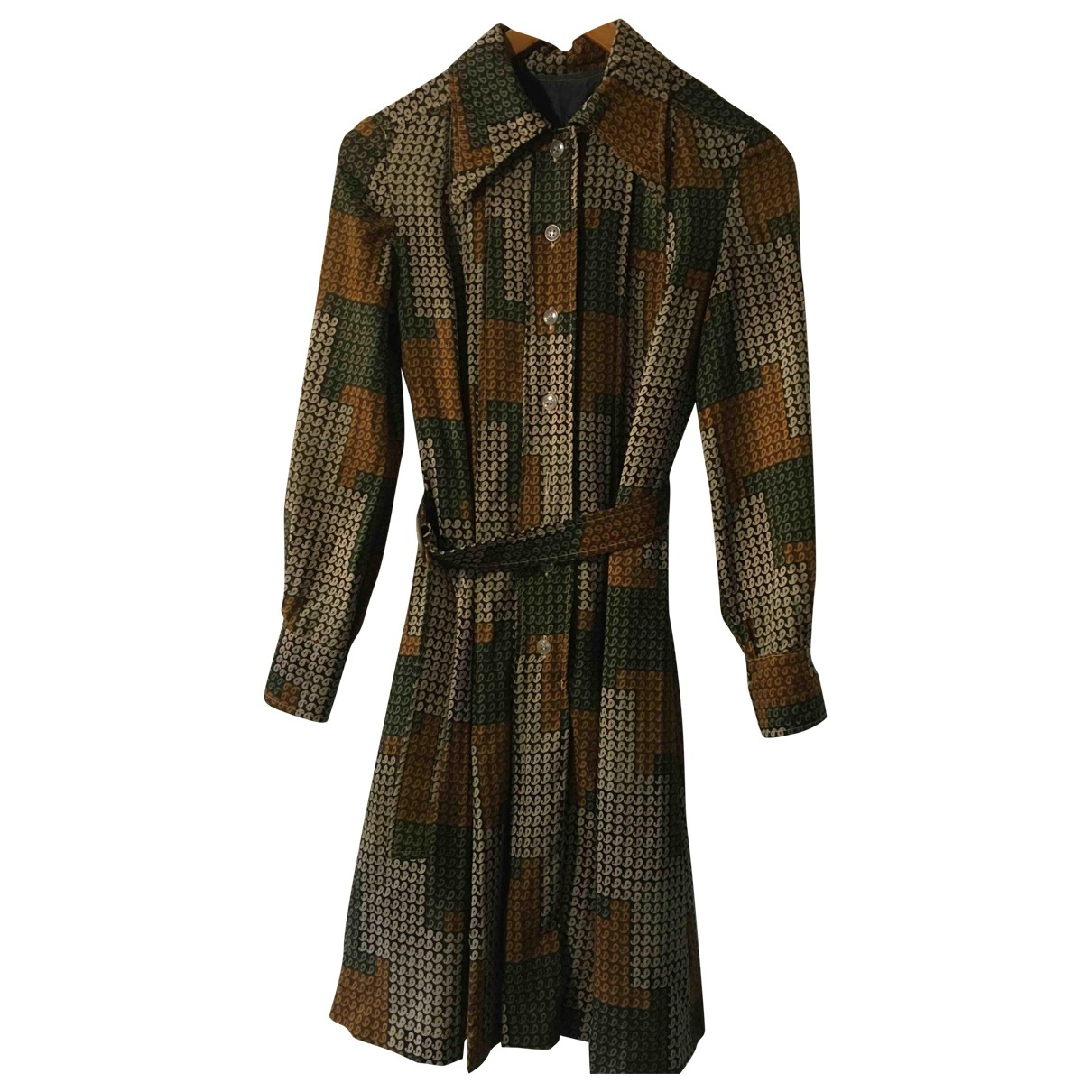 Non Signé / Unsigned \N Brown dress for Women 42 FR