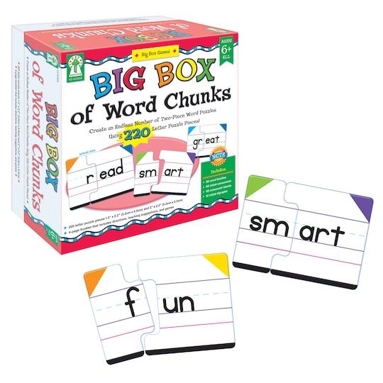 Big Box Of Word Chunks By Carson Dellosa | Michaels®