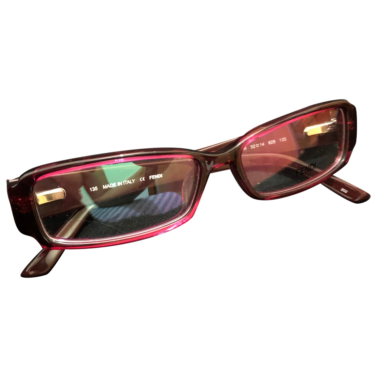 Fendi \N Red Sunglasses for Women \N
