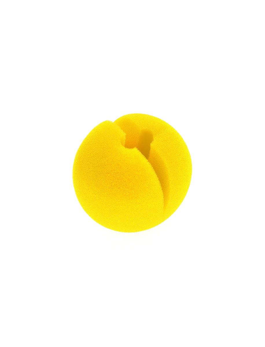 Kostuemzubehor Clownsnase Schaumstoff gelb