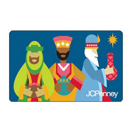 Three Wise Man Gift Card, One Size , No Color Family