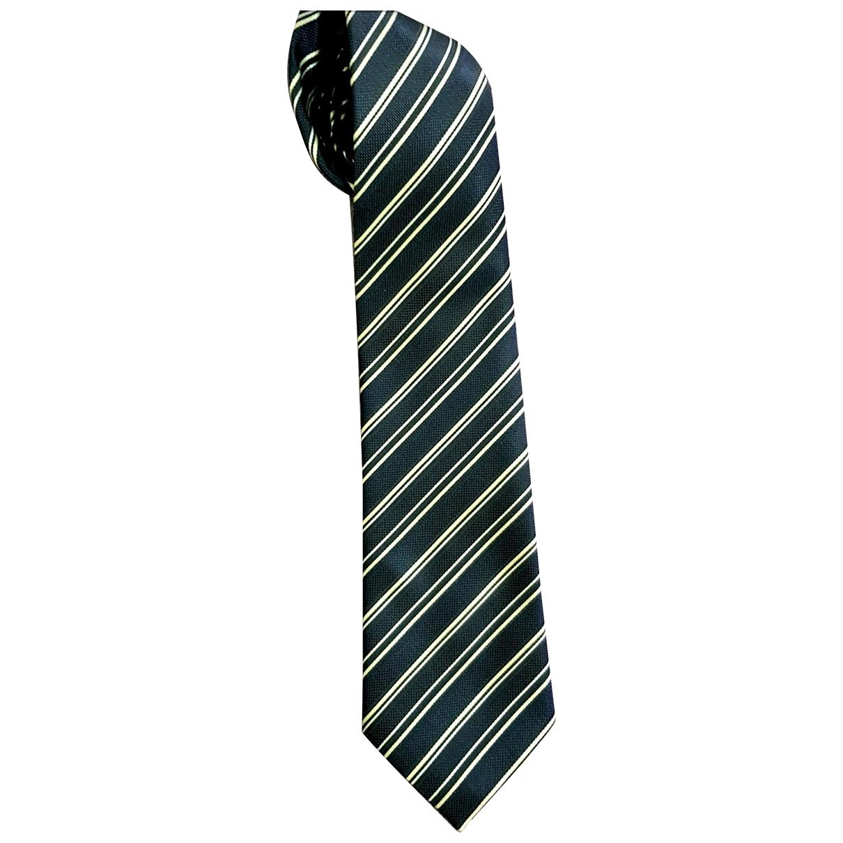 Hermes - Cravates   pour homme en soie - marine