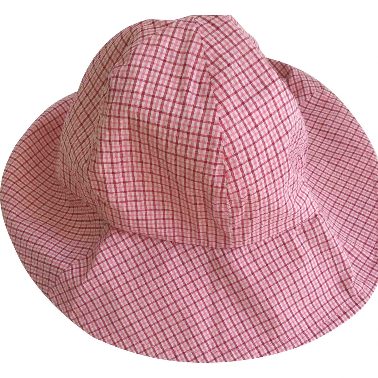 Jacadi - Chapeaux.Bonnets.Gants   pour enfant en coton - rose