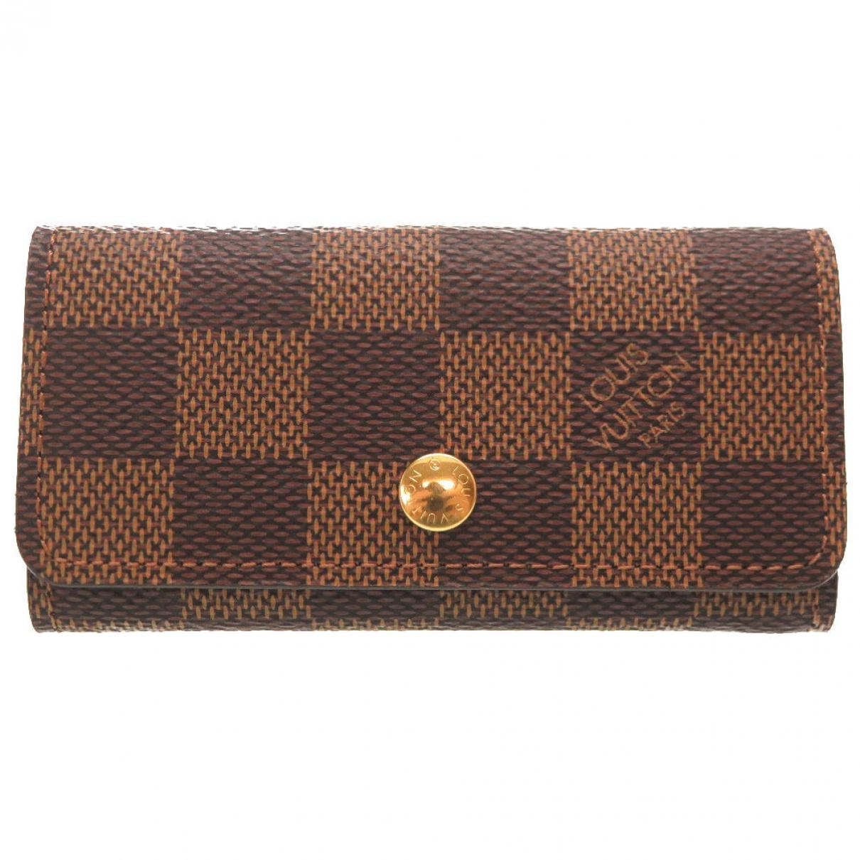 Louis Vuitton - Petite maroquinerie Anae pour femme en toile - marron