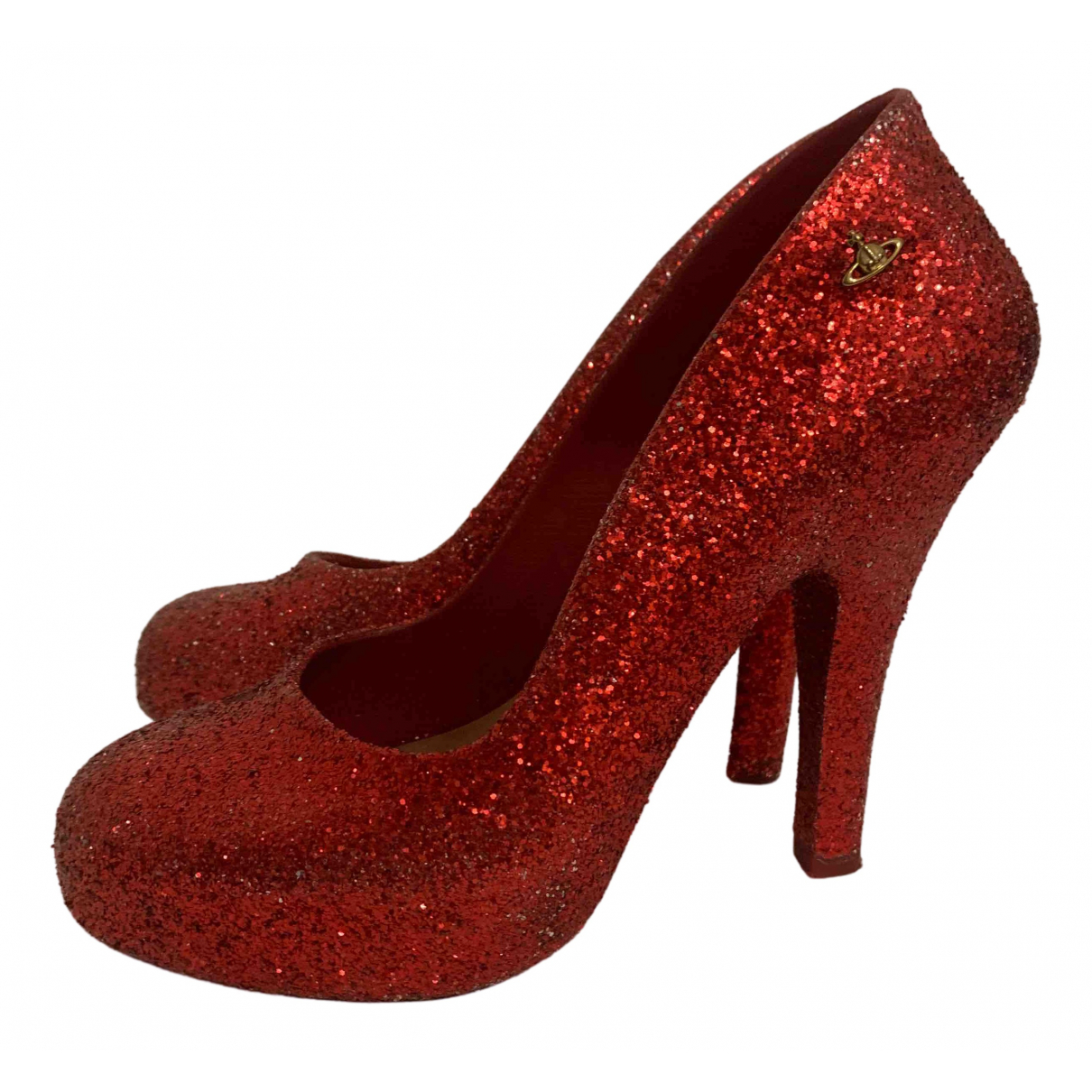 Vivienne Westwood Anglomania \N Pumps in  Rot Kautschuk
