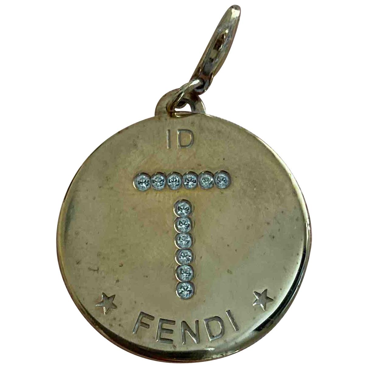 Fendi The Fendista Anhaenger in Silber