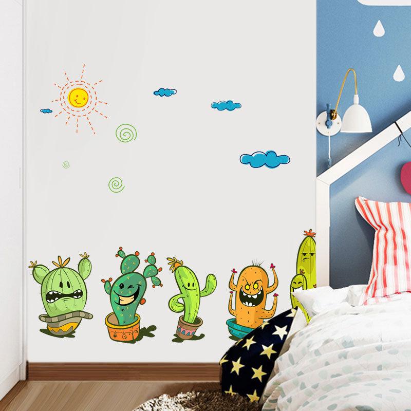 Miico Children's Room And Kindergarten Decorative Wall Sticker Cartoon Stickers DIY Stickers