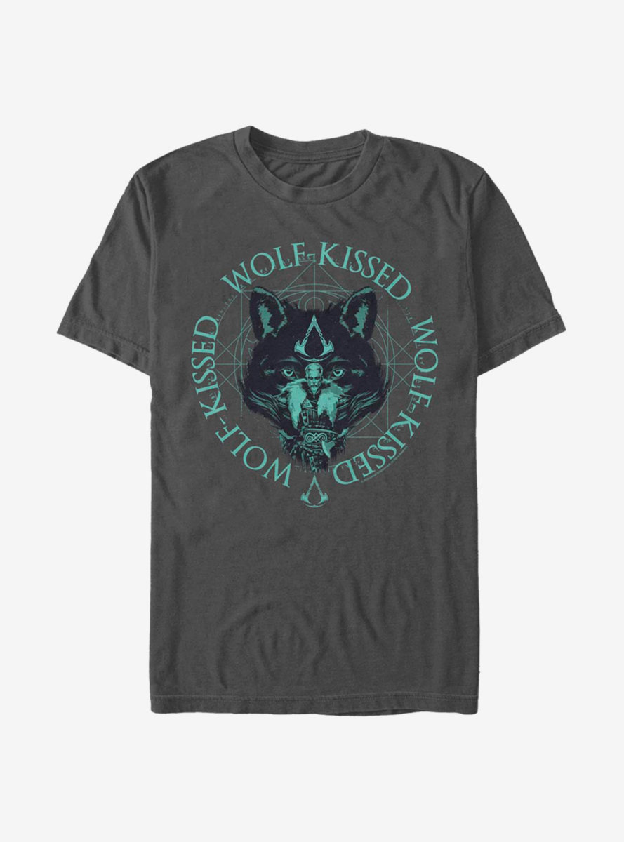 Assassin's Creed Valhalla Wolf-Kissed T-Shirt