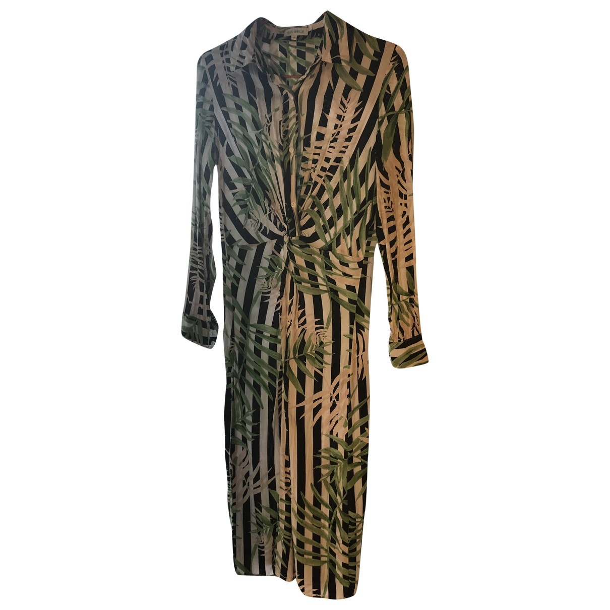 Non Signé / Unsigned \N Green dress for Women 8 UK