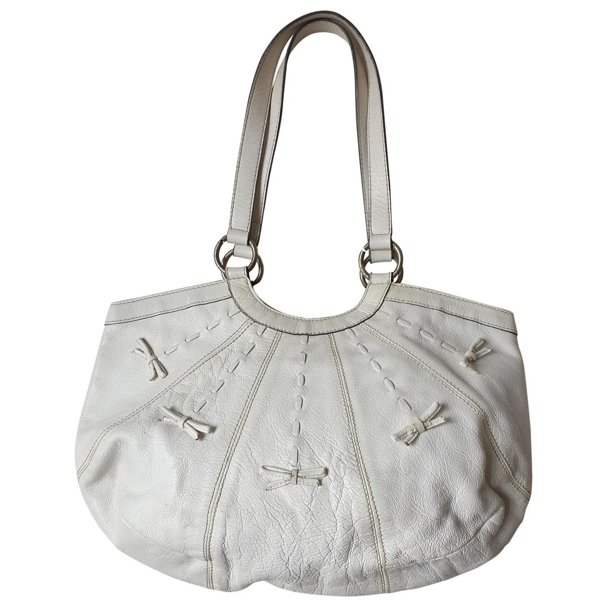 Anya Hindmarch \N Handtasche in  Weiss Leder