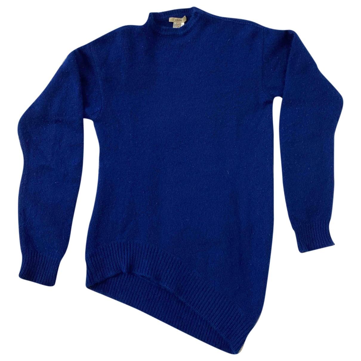 Celine - Pull   pour femme en cachemire - bleu