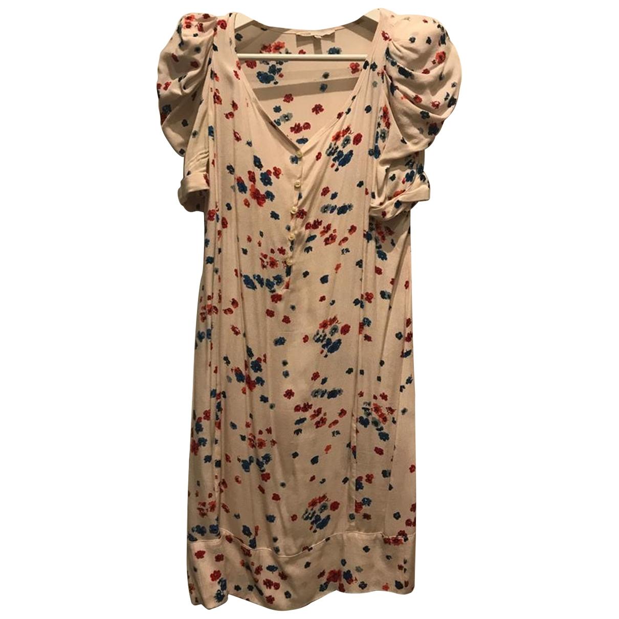 Maje \N White dress for Women 42 IT