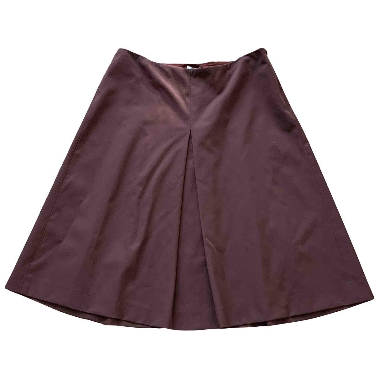 Miu Miu \N Burgundy skirt for Women 40 IT