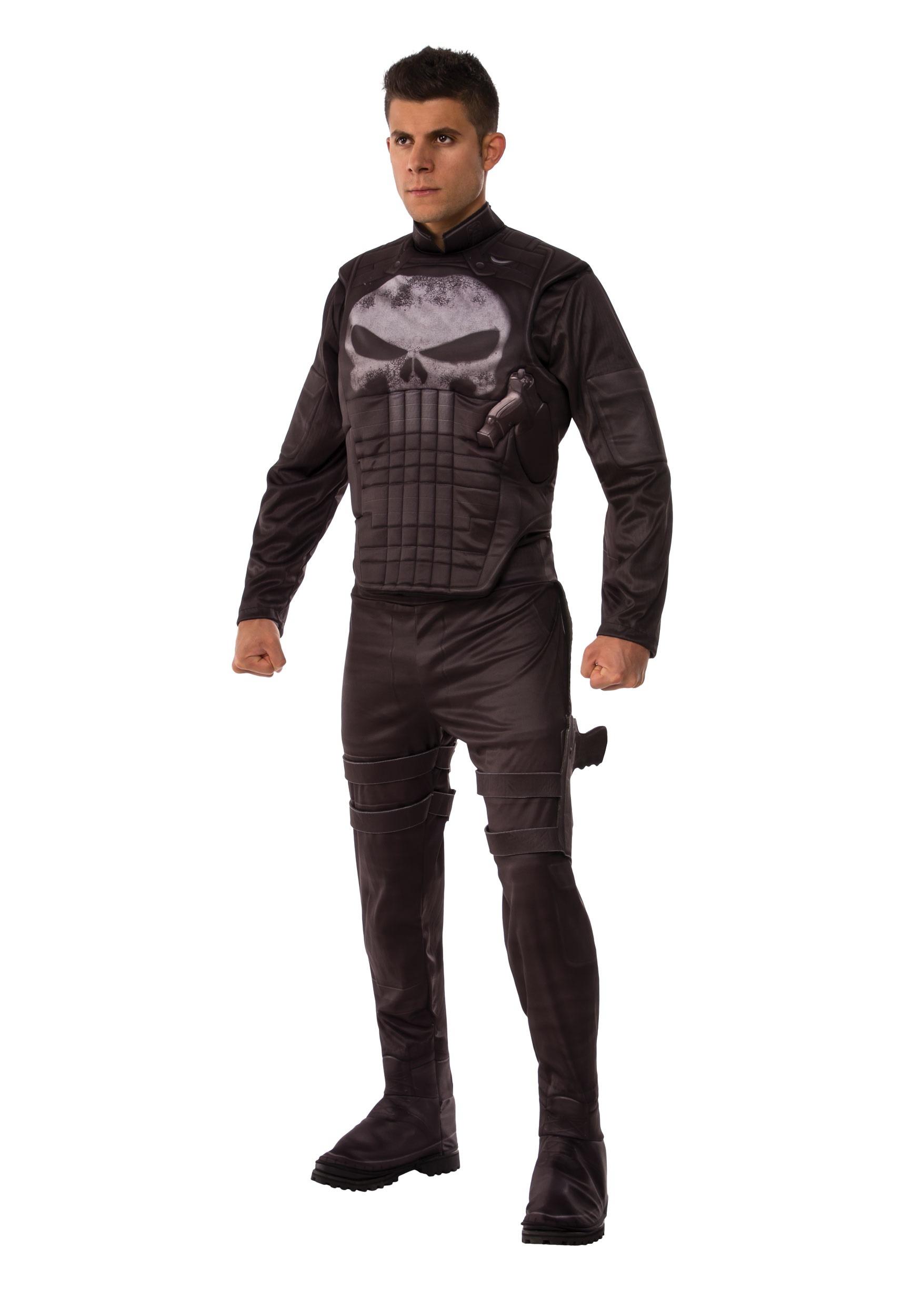 Punisher Deluxe Costume for Men