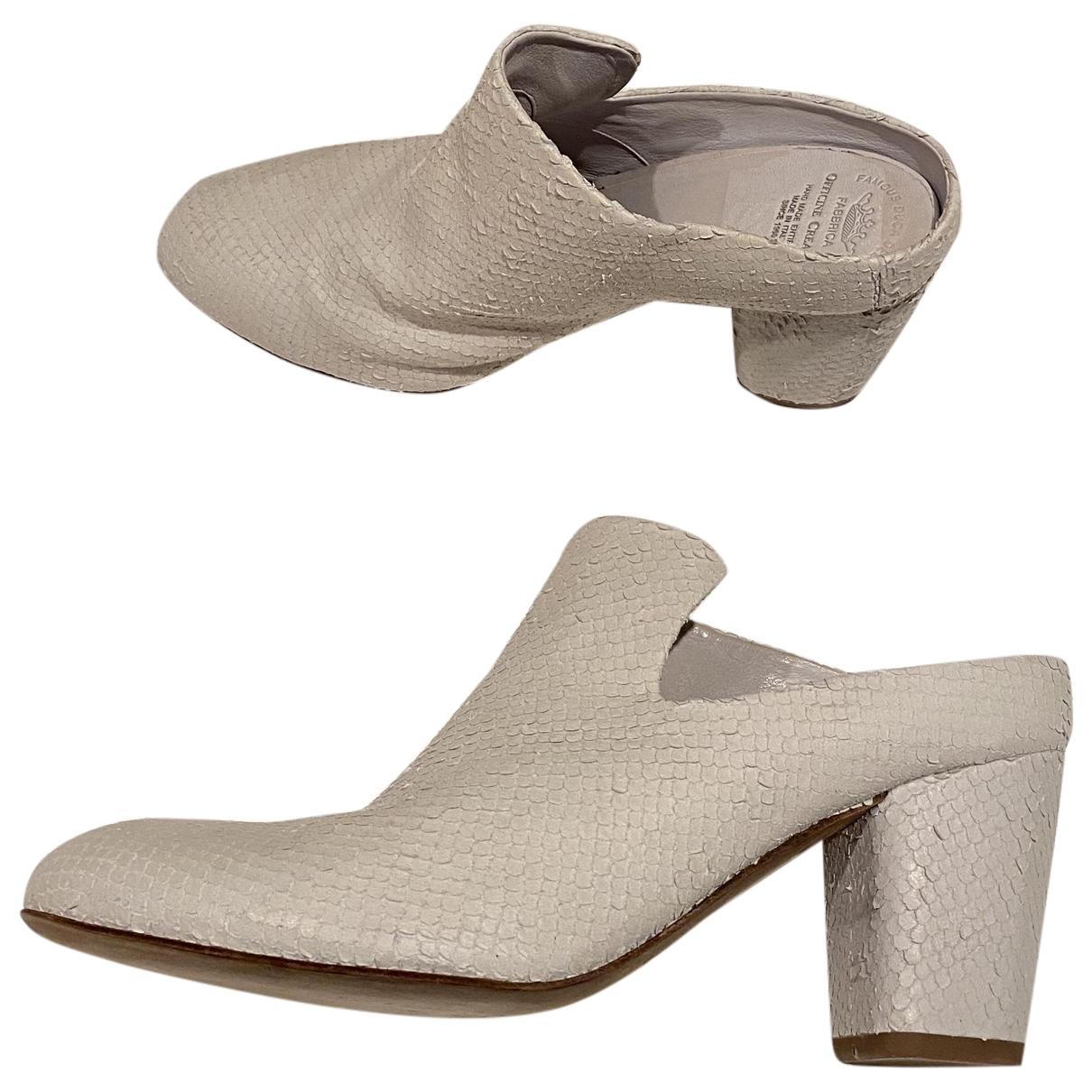 Officine Creative - Sandales   pour femme en cuir