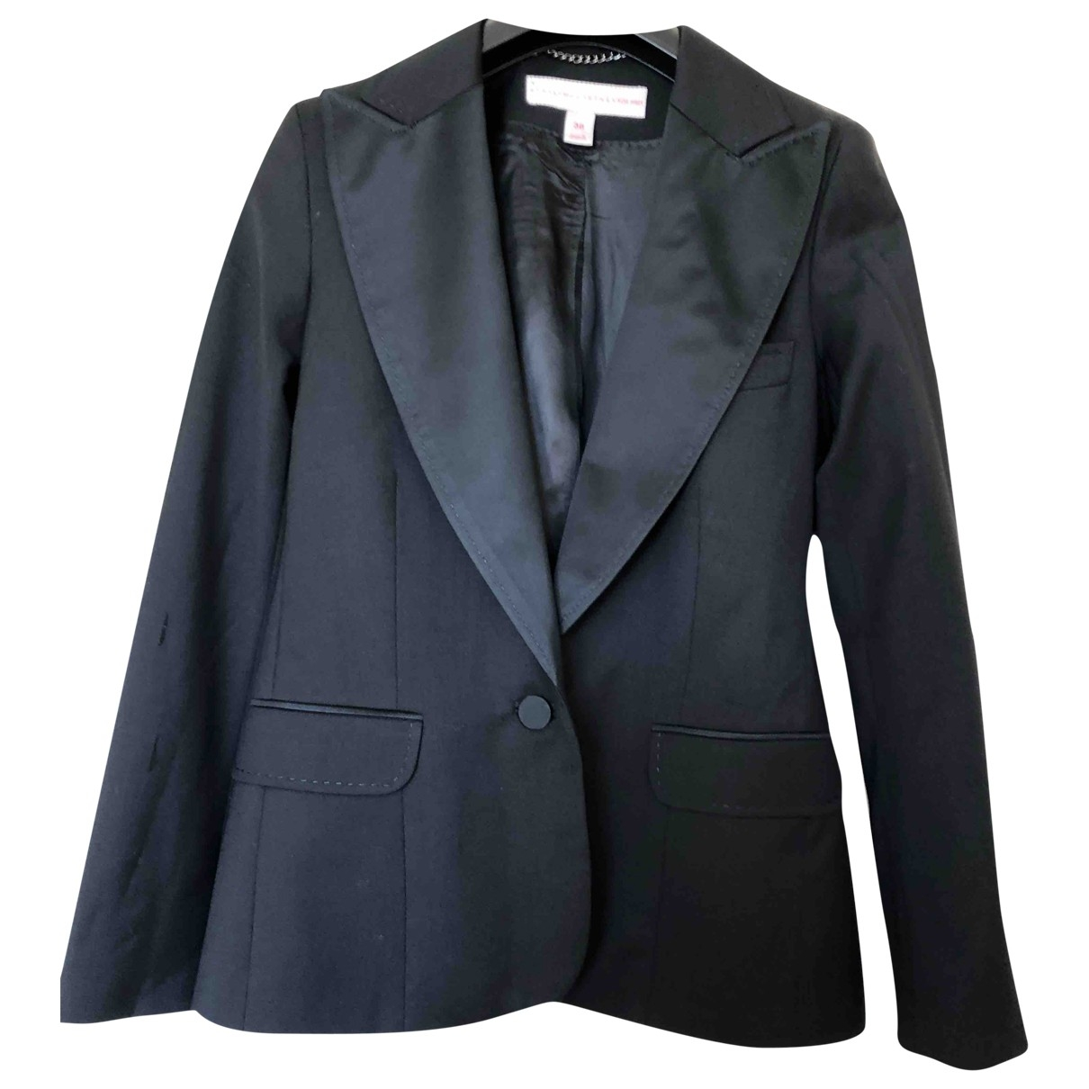Stella Mccartney For H&m \N Jacke in  Schwarz Wolle