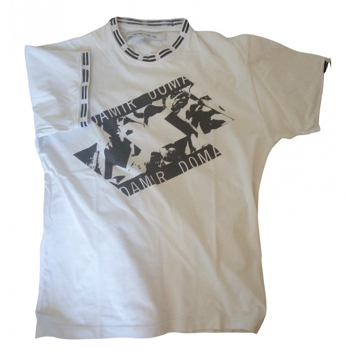 Damir Doma \N White Cotton T-shirts for Men S International