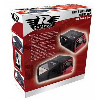 Rampage Combo Brief Top (Black) - 94401