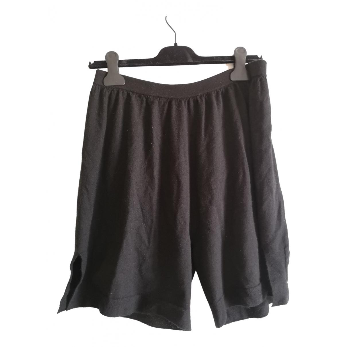 Rick Owens \N Black Wool Shorts for Women XS International