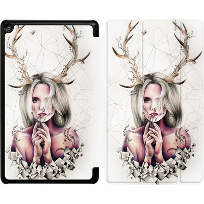 Amazon Fire HD 8 (2018) Tablet Smart Case - The Antlers von Kate Powell