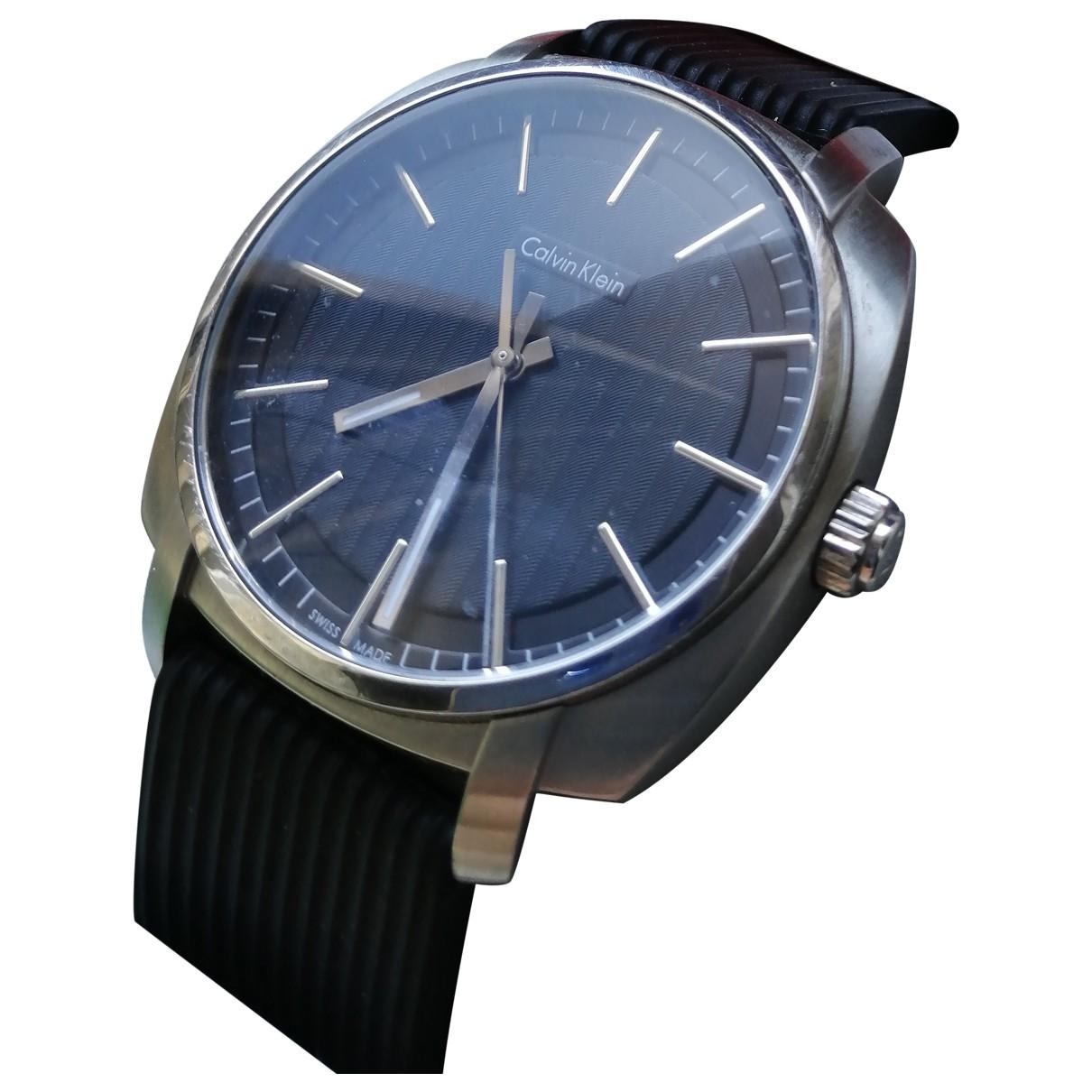 Calvin Klein \N Silver Steel watch for Men \N