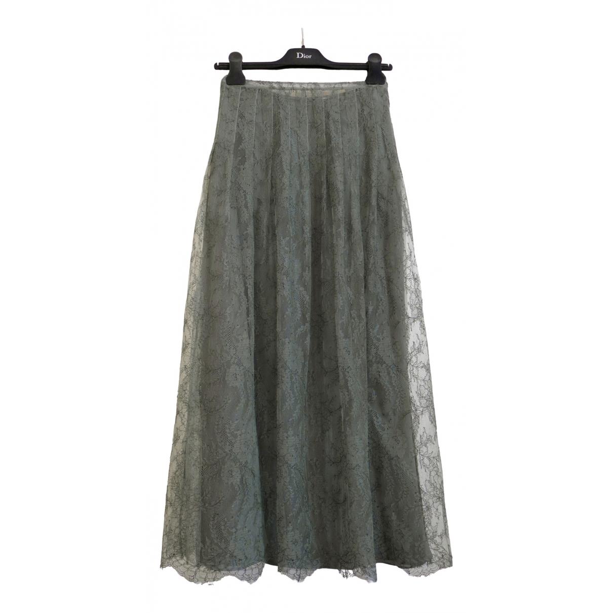 Dior \N Rocke in  Gruen Polyester