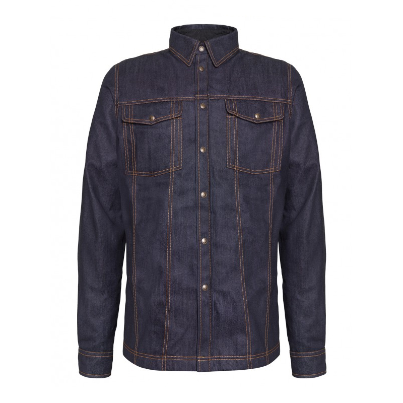 John Doe Lumberjacket Veste De Protection Denim Raw W-JDL5003   2XL
