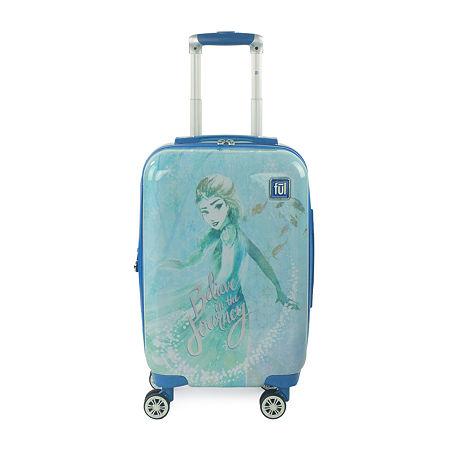Ful Frozen 2 Frozen Hardside Lightweight Luggage, One Size , Blue