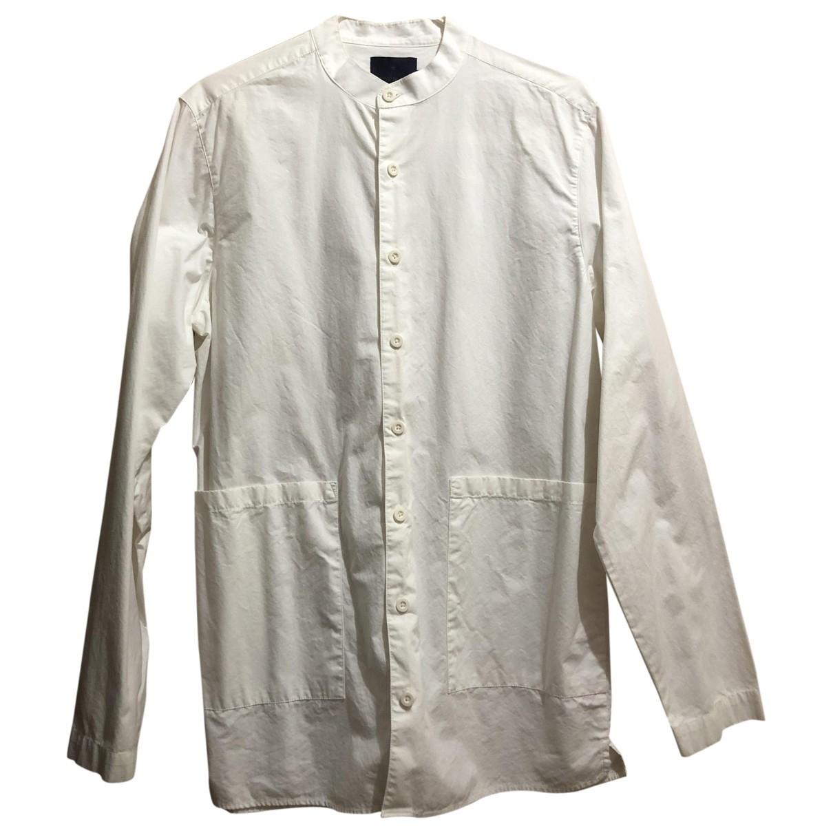 Topman \N White Cotton Shirts for Men XS International