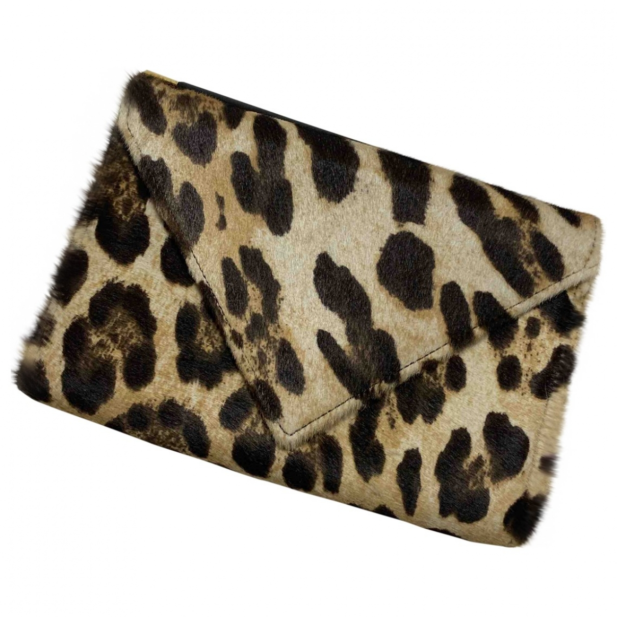 Giuseppe Zanotti \N Brown Pony-style calfskin Clutch bag for Women \N