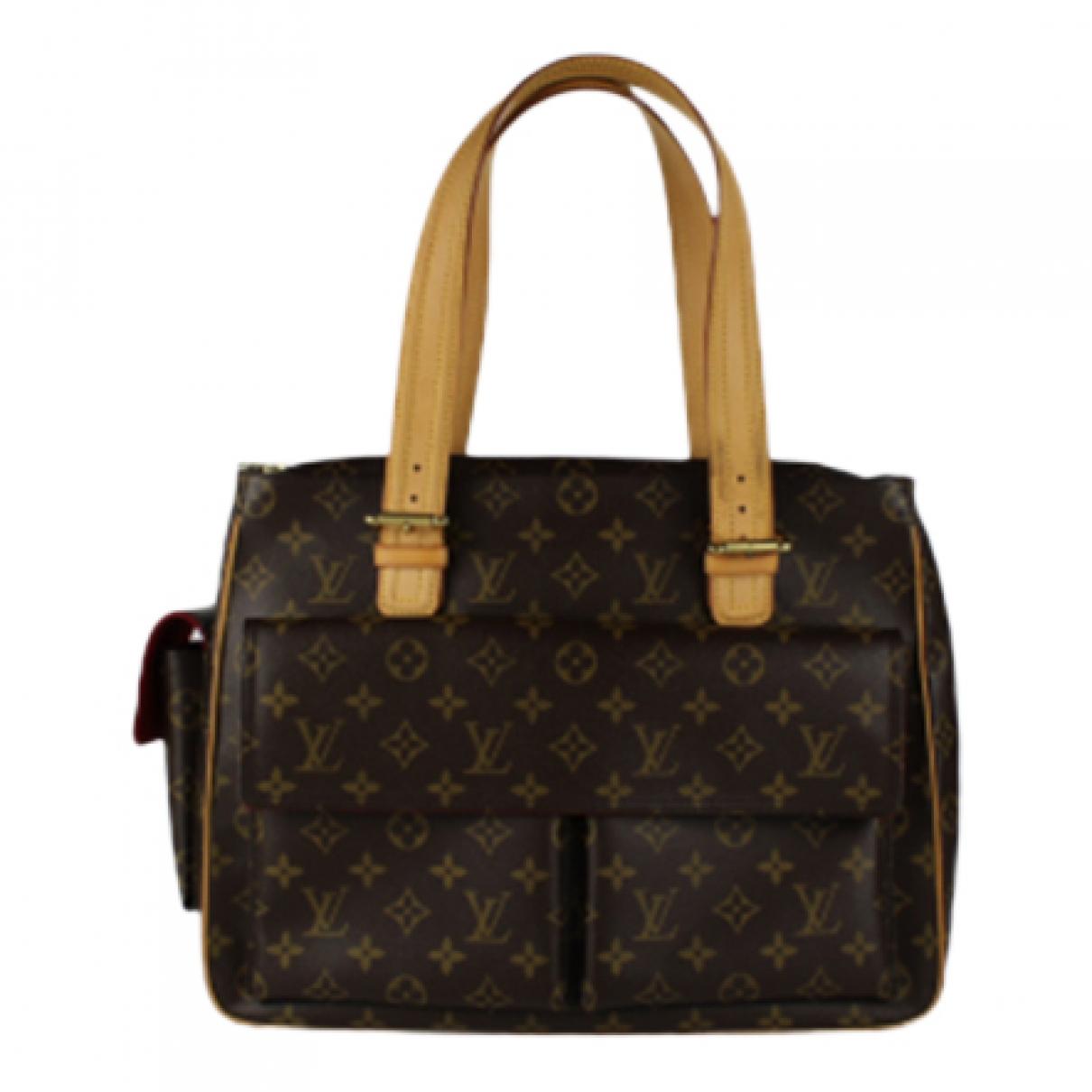 Bolso  Multipli Cite  de Lona Louis Vuitton