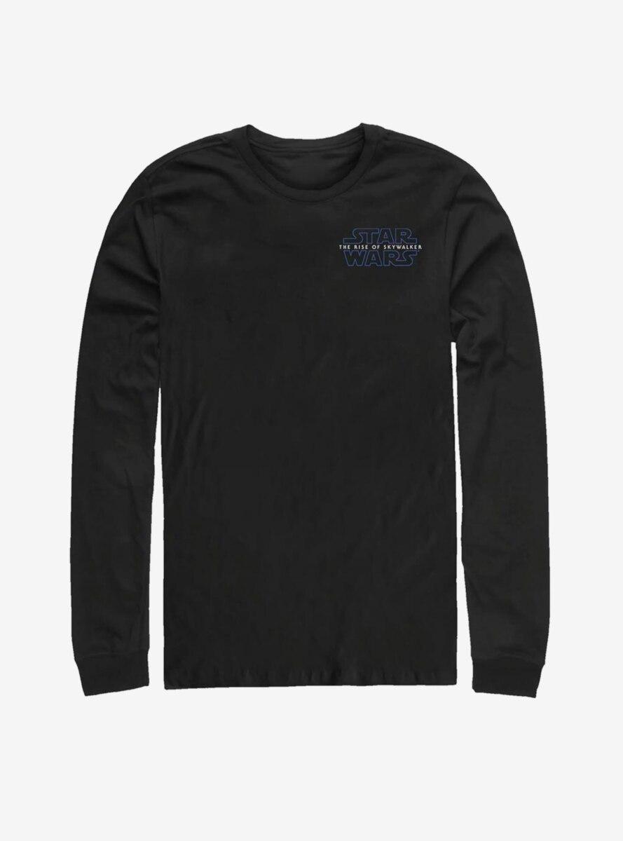 Star Wars Episode IX The Rise Of Skywalker Episode 9 Chest Logo Long-Sleeve T-Shirt