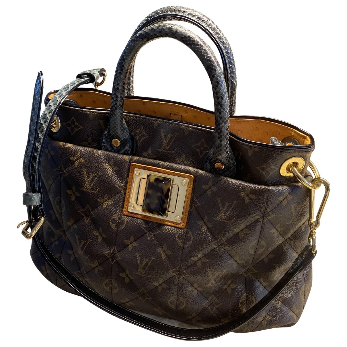 Louis Vuitton Etoile Shopper Handtasche in  Braun Leder