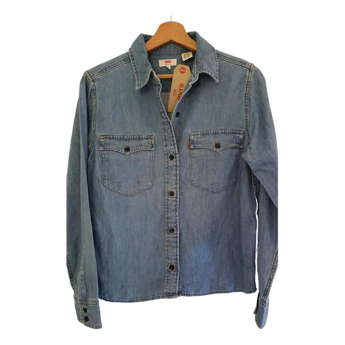 Levis \N Blue Cotton  top for Women 34 FR