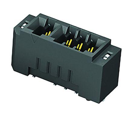 Samtec , MEC2 Female PCBEdge Connector, SMT Mount, 100 Way, 2 Row, 2mm Pitch, 3.5A (2)