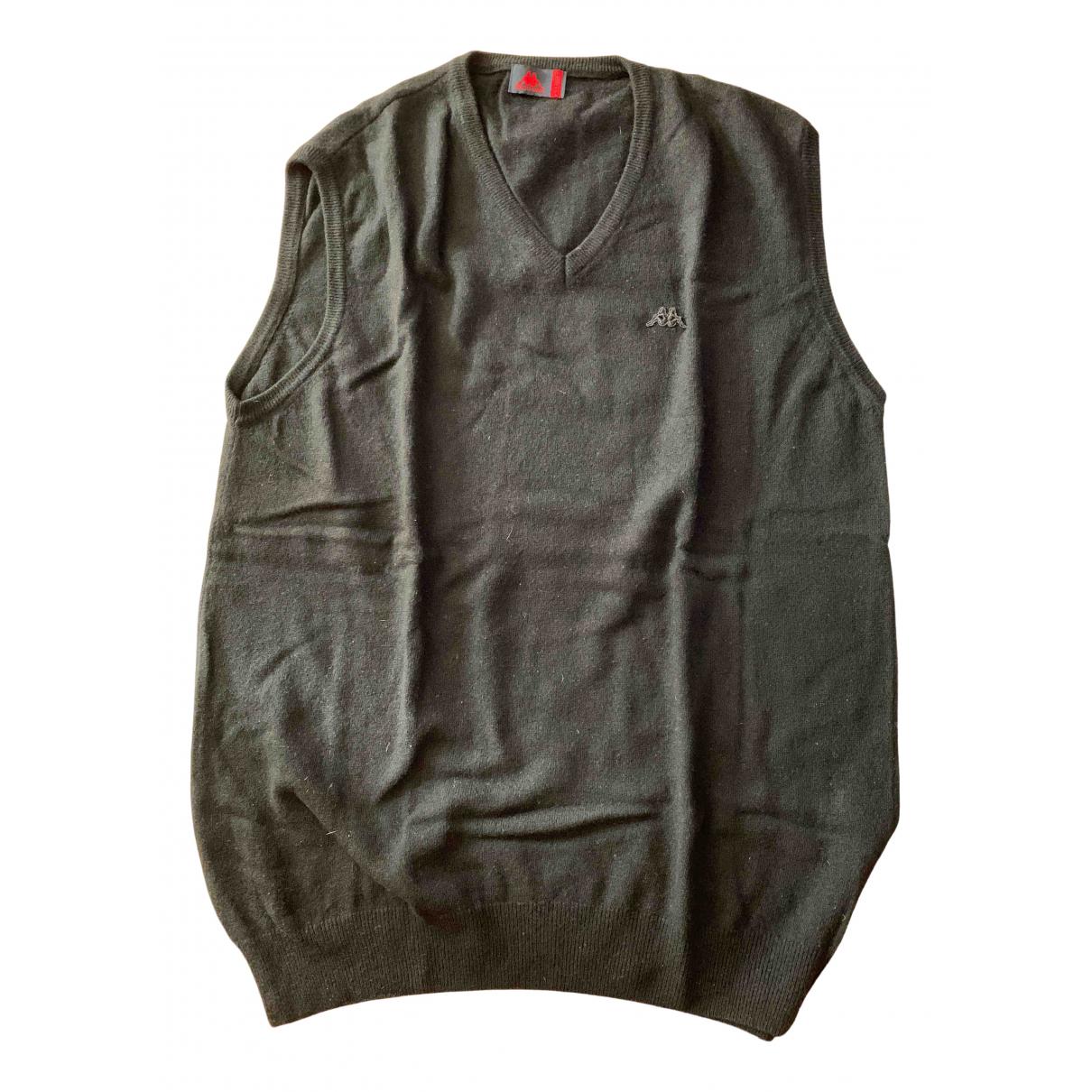 Kappa \N Pullover.Westen.Sweatshirts  in  Schwarz Wolle