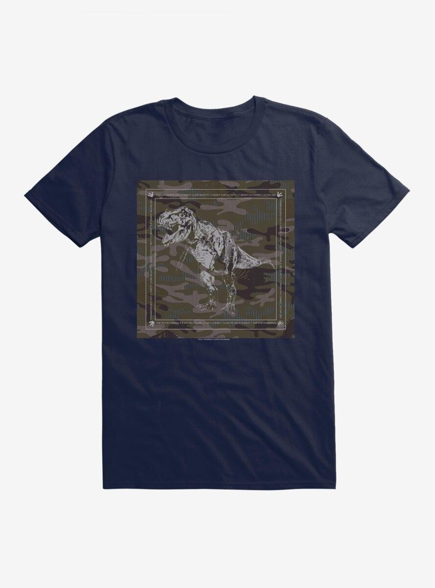 Jurassic World Camo Silhouette T-Shirt