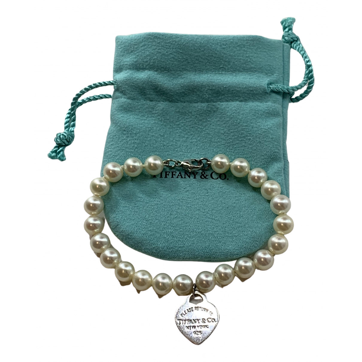 Tiffany & Co \N Armband in  Silber Perlen
