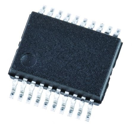 Texas Instruments SN74LV244ADBR Octal-Channel Buffer & Line Driver, 3-State, 20-Pin SSOP (5)