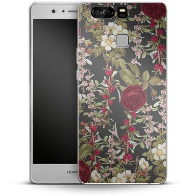 Huawei P9 Silikon Handyhuelle - Floral Explorer von Zala Farah