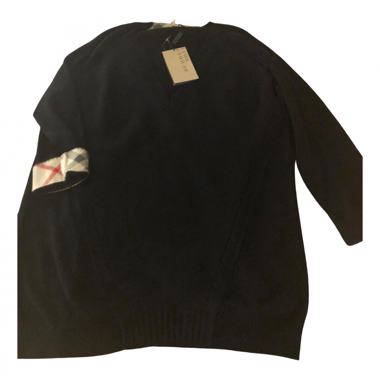 Burberry \N Pullover in  Schwarz Baumwolle