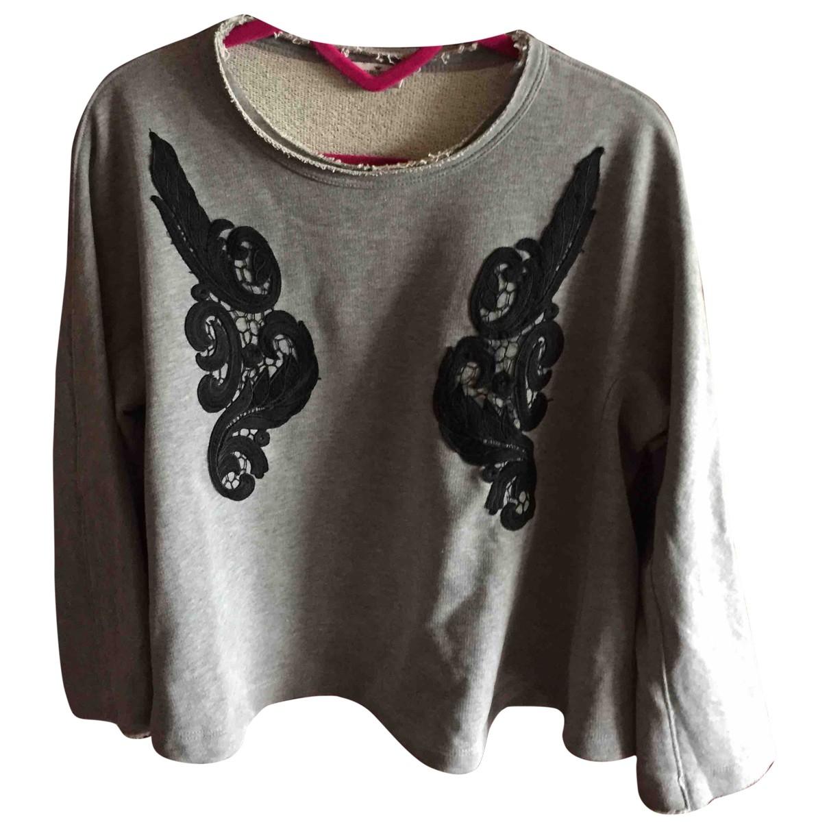 Liu.jo \N Grey Cotton Knitwear for Women S International